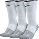 Nike Dry Cushion Crew Training - Calcetines Running Hombre - 3 Pair blanco